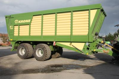 Krone Häckseltransportwagen
