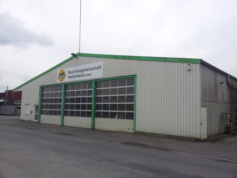 Werkstatt- und Bürobereich am alten Standort